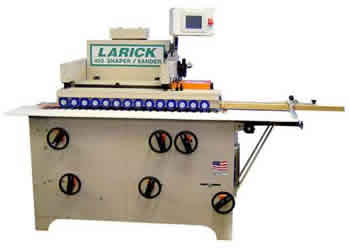 Larick Machinery Model 410 Shape and Sand