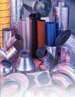 Air Handling Systems Dust Collector Pipes and Fittings