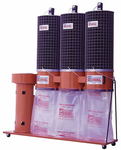 Coral 5.5 HP CA Portable Dust Collector